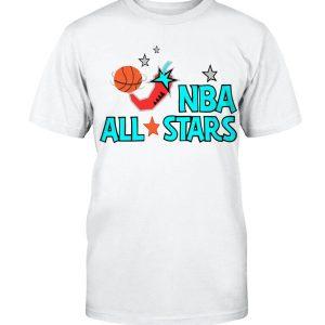 NBA ALL STARS SHIRT MITCHELL AND NESS AUTHENTICE JERSEY 1996 NBA ALL STARS SHAWN KEMP - DeMar DeRozan - San Antonio Spurs