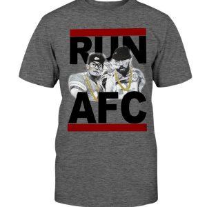 RUN AFC SHIRT Patrick Mahomes and Travis Kelce - Kansas City Chiefs