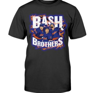 BASH BROTHERS SHIRT Casey Cizikas - Matt Martin - Kyle Palmieri - New York Islanders
