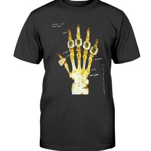 KOBE BRYANT Hand X-Ray Ring Shirt